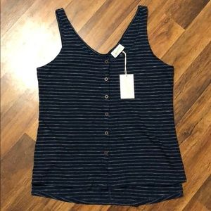 Women's Universal Thread Target Button Up Tank Top